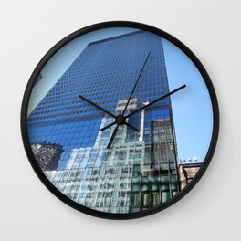Looking up on 42nd Street Wall Clock