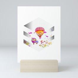 Für alle die gerne die Erde von oben sehen Design Mini Art Print