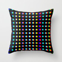 chromatic Throw Pillow