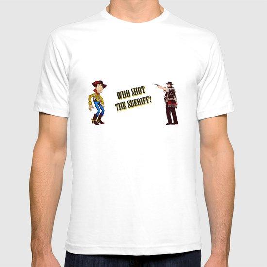 Who Shot The Sheriff? T-shirt