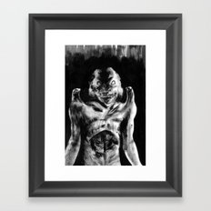 For Each Of Man's Evils A Special Demon Exists Framed Art Print