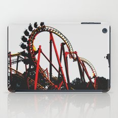 Roller Yellow Coaster Red iPad Case