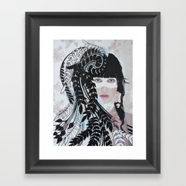 Love & Darkness Framed Art Print