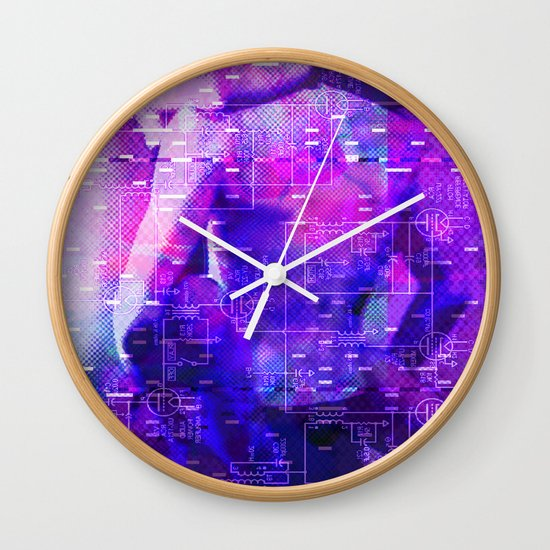 It's Just Not Gonna Happen < The NO Series (Purple) Wall Clock