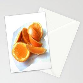 Orange Quarters Stationery Cards