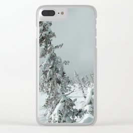 Winter 11 Clear iPhone Case