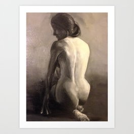 female figure II Art Print
