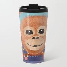 orangutan Metal Travel Mug