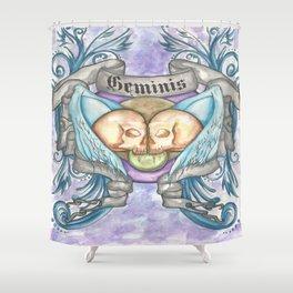 Horroroscopo Geminis Shower Curtain