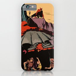 Winged horrors iPhone Case