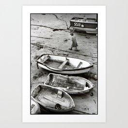 Against the Tide Art Print