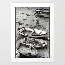 Against the Tide Art Print