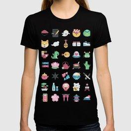 CUTE JAPANESE PATTERN T-shirt