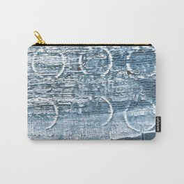 Weldon Blue abstract watercolor Carry-All Pouch