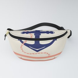 AFE Navy Anchor and Chain Fanny Pack