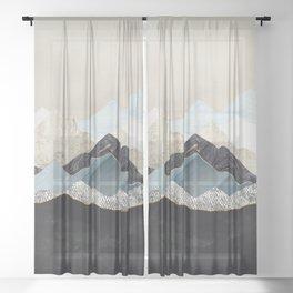 Silent Dusk Sheer Curtain