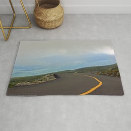 Road in the Clouds Rug