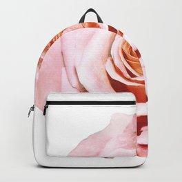 Photomanipulation | Pink Rose Backpack