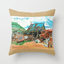 Another Man's Treasure Throw Pillow
