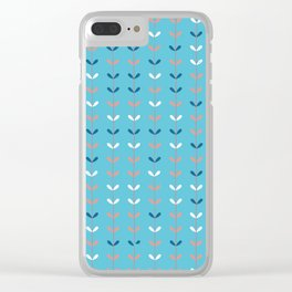 Colourful Climber Clear iPhone Case