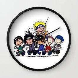 Naruto Gang Wall Clock