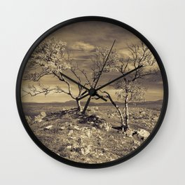 Loney trees Wall Clock