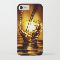 drink iPhone & iPod Cases featuring Drink by Digital Dreams