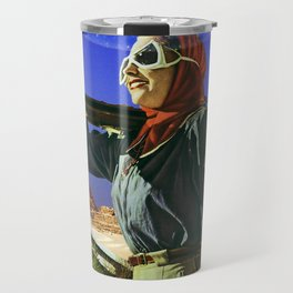 Vacation in Giza Travel Mug