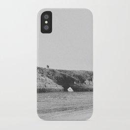 BEACH II (B+W) iPhone Case