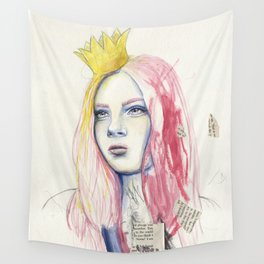 The Paperback Princess Wall Tapestry