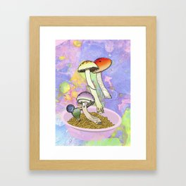 Druggy Charms Framed Art Print