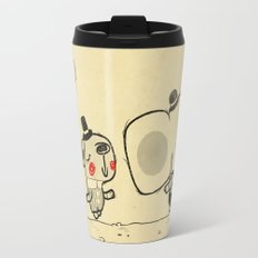 Forest Friends \ Cute Animals March\ elephant cats dogs  Travel Mug