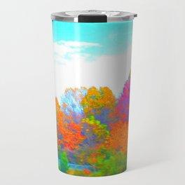 Neon Forest Travel Mug
