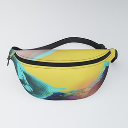 Abstract composition pop art  Fanny Pack