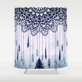 BOHO DREAMS MANDALA Shower Curtain
