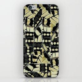WOVEN BUTTERFLIE iPhone Skin