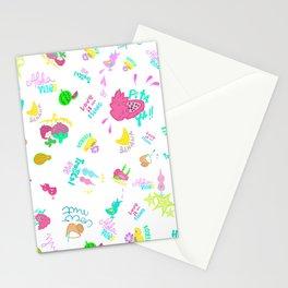 Tropical Yummy Stationery Cards