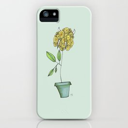 Delicate As A: Billy Buttons iPhone Case