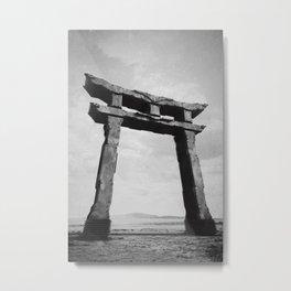 Shrine Gate Metal Print