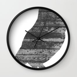 Owl (The Living Things Series) Wall Clock