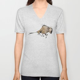 Wildebeest Unisex V-Neck
