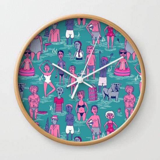 Seafarers Wall Clock