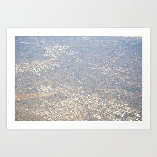 GEOgraphy V Art Print
