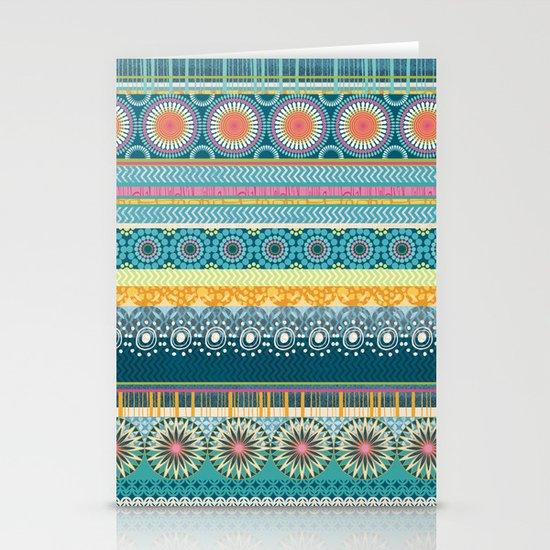 Blue Streaks Stationery Cards