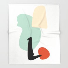 Matisse Shapes 4 Throw Blanket