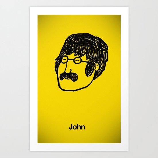 John. Art Print