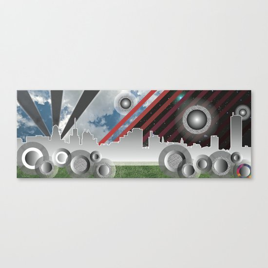 The Queen City Canvas Print