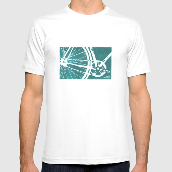 Teal Bike T-shirt