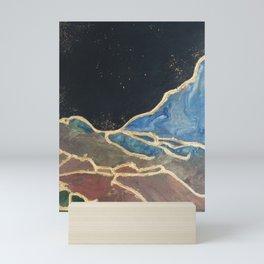Rajul Shah Kintsugi Earth I Mini Art Print