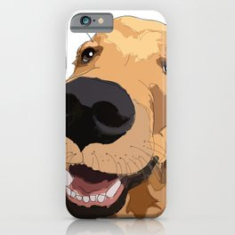 Golden Retriever dog love iPhone Case